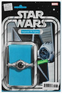 Star Wars Tie Fighter #1 Action Figure Variant Comic Book ITC301