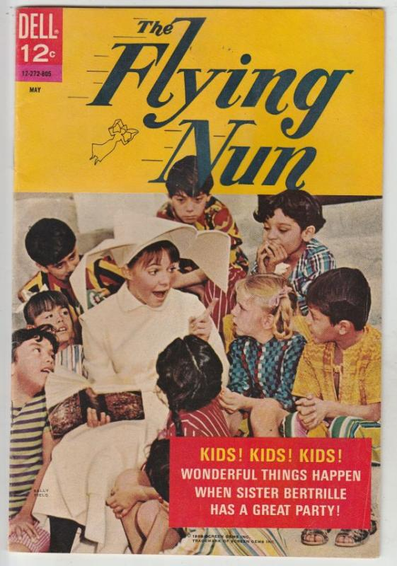 Flying Nun, The #2 (May-68) VF High-Grade Sister Bertrille (Sally Fields)