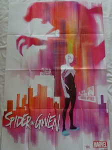 SPIDER GWEN Promo Poster, 24 x 36, 2015, MARVEL,  Unused more in our store 178