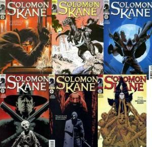 SOLOMON KANE (2008 DH) 1A,1B,2-5  COMPLETE+