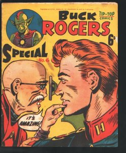 Tip-Top Comics-Buck Rogers Special #6 1960-Newspaper comic strips by Dick Col...
