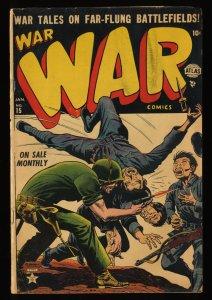 War Comics #15 GD+ 2.5