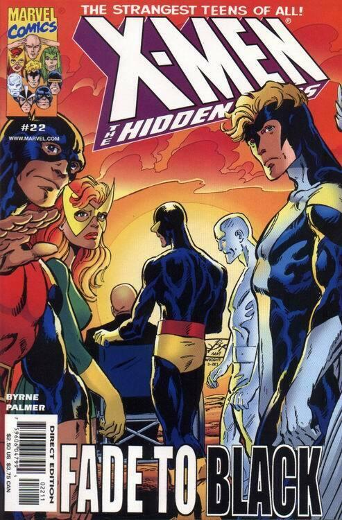 X-MEN: HIDDEN YEARS #22 NM- AGSL9X