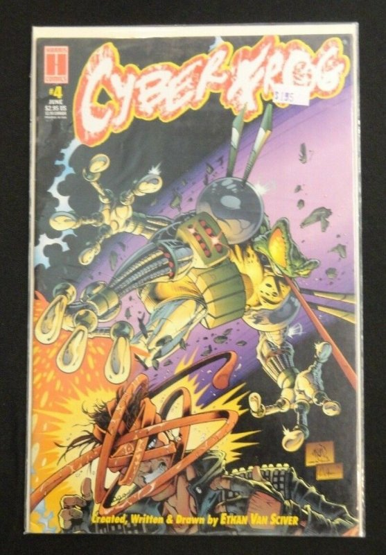 Cyberfrog #4 Story/Art By Ethan Van Sciver Harris Comics