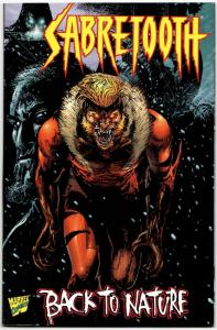 Sabretooth Back to Nature #1 (Marvel, 1998) VF/NM