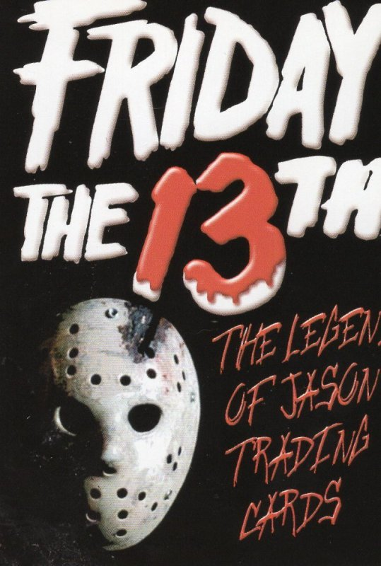 2002 Friday the 13th the Legend of Jason Promo Card