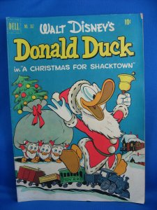 FOUR COLOR 367 DONALD DUCK CHRISTMAS SHACKTOWN BARKS UNCLE SCROOGE 1952