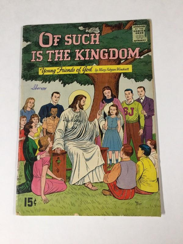 Of Such Is The Kingdom 1955 4.5 Vg+ Very Good+ Silver Age