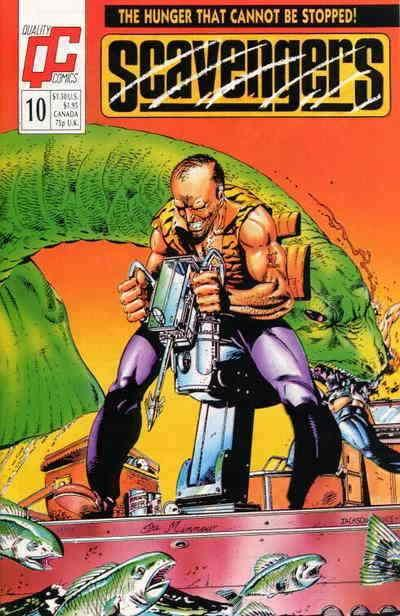 Scavengers (Fleetway/Quality) #10 VF/NM; Fleetway Quality | save on shipping - d