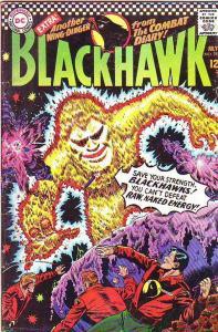 Blackhawk #222 (Jul-66) FN Mid-Grade Black Hawk, Chop Chop, Olaf, Pierre,Chuc...