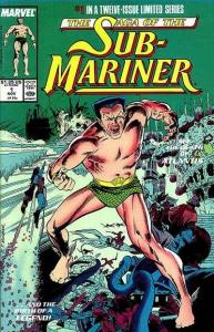 Saga of the Sub-Mariner #1, VF (Stock photo)