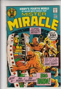 Mister Miracle #4 (Oct-71) VF/NM High-Grade Scott Free (Mister Miracle), Big ...