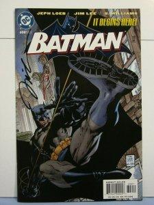 Batman #608 (DC Comics, Dec 2002) SIGNED Jim Lee & Alex Sinclair Nice Cover!