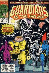 Guardians of the Galaxy (1990 series) #26, NM (Stock photo)