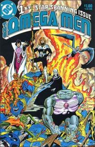 DC OMEGA MEN (1983 Series) #1 VF+