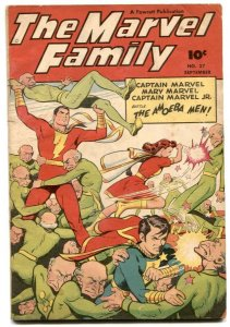 The Marvel Family #27 1948- AMOEBA MEN VG/F