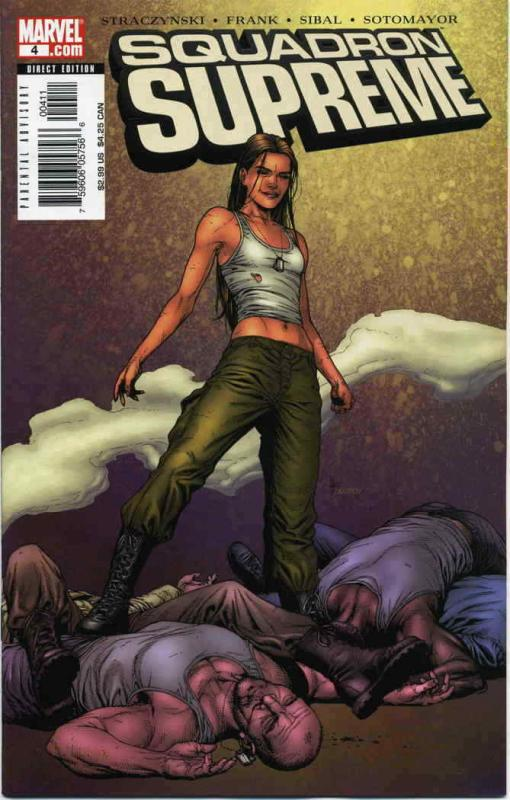 Squadron Supreme (2nd Series) #4 VF; Marvel | save on shipping - details inside