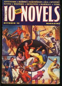TEN SHORT NOVELS OCT 1938-#1-FIRST ISSUE-RARE VG/FN