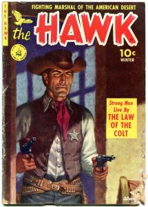 THE HAWK COMICS #1 1951-MURPHY ANDERSON-GEORGE TUSKA FR