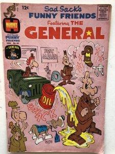 Sad sacks General#60,VG, cover loose @top staple