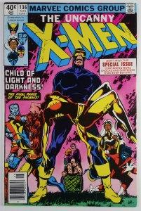 The Uncanny X-Men #136 - Dark Phoenix APPEARANCE - Newsstand - NM - Marvel 1980