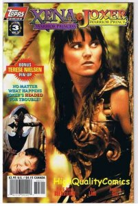XENA WARRIOR PRINCESS & JOXER 3, NM+, Lucy Lawless,1997, more in store