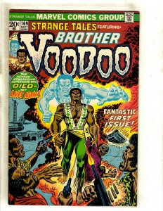 Strange Tales # 169 VF/NM Marvel Comic Book 1st Brother Voodoo Appearance RS1