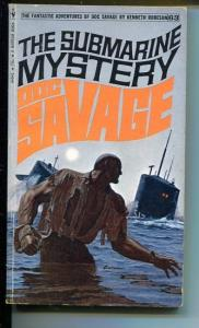 DOC SAVAGE-THE SUBMARINE MYSTERY-#63-ROBESON-VG-JAMES BAMA COVER-1ST EDITION VG