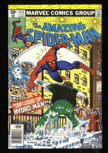 Amazing Spider-Man #212 VF+ 8.5 Newsstand Variant 1st Hydro-Man!