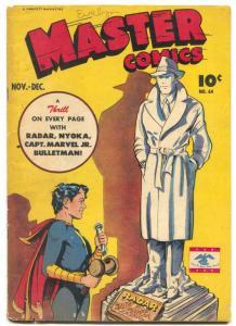 Master Comics #64 1945- Radar- Captain Marvel Jr