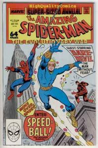 SPIDER-MAN #22, Annual, VF/NM, 1963, DareDevil, Speedball, Amazing
