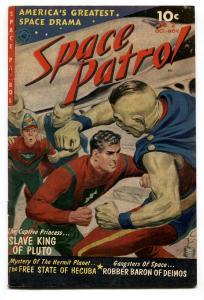 SPACE PATROL #2-comic book 1952-ZIFF DAVIS-NORMAN SAUNDERS-BERNIE KRIGSTEIN vf-