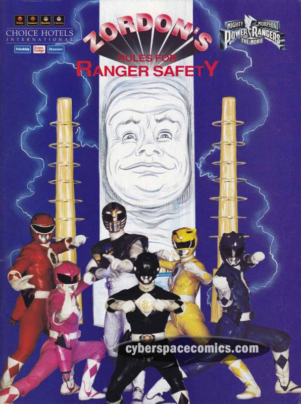 Mighty Morphin' Power Rangers: Zordon's Rules for Ranger Safety SC VF/NM book