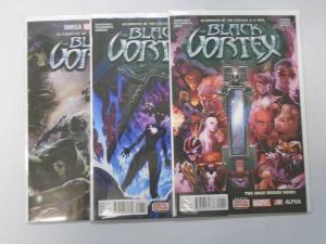 Guardians of the Galaxy and X-Men Black Vortex Alpha+Omega+Omega Variants 8.0/VF