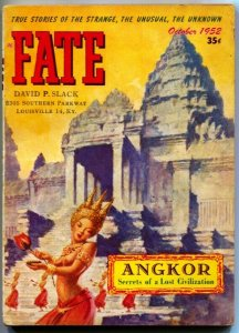 FATE-1952-Oct-PULP-Mystery-Exploitation-Strange-SPICY CAMBODIAN DANCING GIRL cov