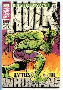 Incredible Hulk Annual #1 VG/FN 1968 Marvel  - Inhumans-Steranko