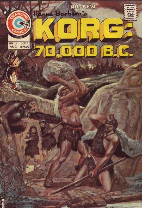 Korg:  70,000 B.C. #2 (Aug-75) VF/NM High-Grade Korg