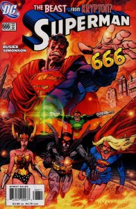 Superman (2nd Series) #666 VF/NM; DC | save on shipping - details inside