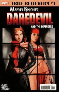 True Believers Daredevil And The Defenders #1 (Marvel, 2018) VF/NM