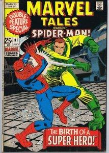 Marvel Tales #31 ORIGINAL Vintage 1971 Spider-Man