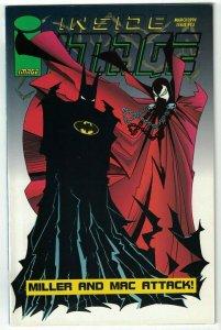 Inside Image #13 VF; Image   Batman & Spawn preview - Todd McFarlane - Sam Kieth