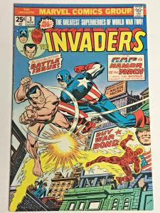 INVADERS#3 FN 1975 MARVEL BRONZE AGE COMICS