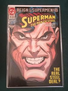 Superman The Man of Steel #25 Reign of the Supermen