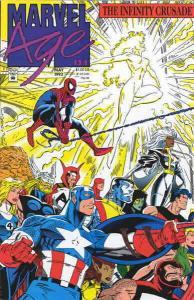 Marvel Age #124 VG; Marvel | low grade comic - save on shipping - details inside