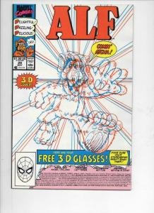 ALF #29, NM,  Marvel, 1988 1990, 3-D cover but no 3-D glasses,  more in store