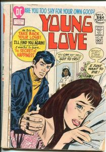 YOUNG LOVE #88-HOSPITAL COVER-DC ROMANCE-COOL G