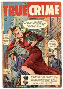 True Crime V. 2 #8 1949-Canadian edition- Rare Golden Age VG
