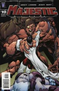 Majestic (2nd Series) #10 VF/NM; WildStorm | save on shipping - details inside