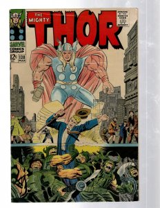 Mighty Thor # 138 VF Marvel Comic Book Loki Odin Asgard Sif Avengers Hulk RB8