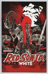 Red Sonja Black White Red #3 Cvr B Izaakse Variant (Dynamite, 2021) NM